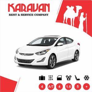 Hyundai Elantra / Medium class rent a car Baku