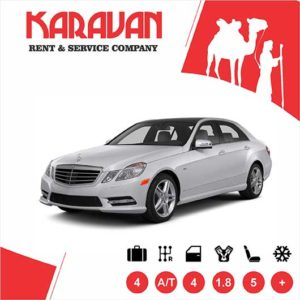 Mercedes Benz E-class / Business class car rental Baku
