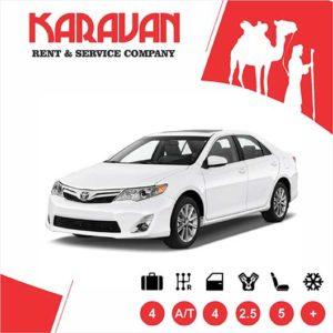 Toyota Camry / Medium class rent a car Baku