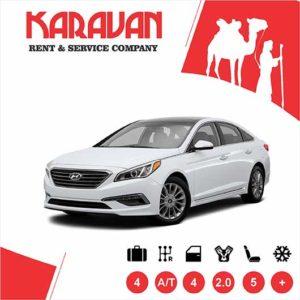 Hyundai Sonata (2018) / Medium class rent a car Baku