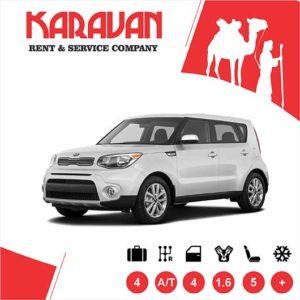 KIA SOUL / Economy class rental cars Baku