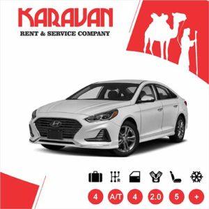 Hyundai Sonata (2019) / Medium class rent a car Baku
