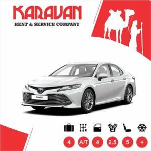 Toyota Camry (2019) / Medium class rent a car Baku