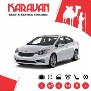 Kia Cerato / Medium class rent a car Baku