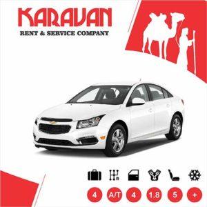 Chevrolet Cruze / Medium class rent a car Baku
