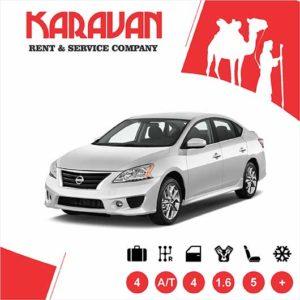 Nissan Sentra / Medium class rent a car Baku