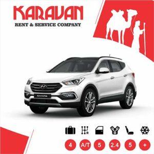 Hyundai Santa Fe / Crossover class cars for rent in Baku, Azerbaijan