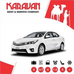 Toyota Corolla / Medium class rent a car Baku