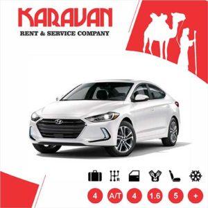 Hyundai Elantra (2018) / Medium class rent a car Baku