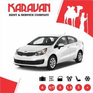KIA RIO / Economy class rental cars Baku