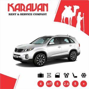 Kia Sorento / Crossover class cars for rent in Baku, Azerbaijan