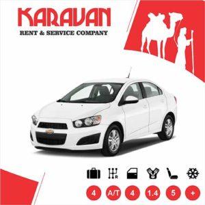 CHEVROLET AVEO / Economy class rental cars Baku