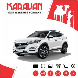 Hyundai Tucson / Crossover class cars for rent in Baku, Azerbaijan