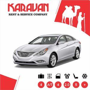 Hyundai Sonata / Medium class rent a car Baku
