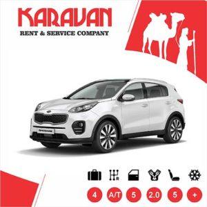 Kia Sportage (2018) / Crossover class cars for rent in Baku, Azerbaijan