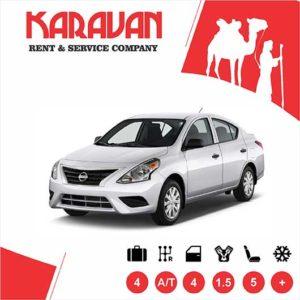 NISSAN SUNNY / Economy class rental cars Baku