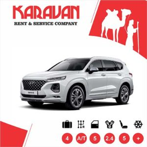 Hyundai Santa-Fe / Crossover class cars for rent in Baku, Azerbaijan