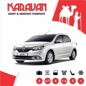 RENAULT LOGAN / Economy class rental cars Baku