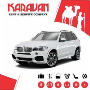 BMW x5 / SUV class auto rental Baku