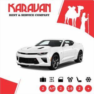 Chevrolet Camaro / Sport class rental cars in Baku, Azerbaijan