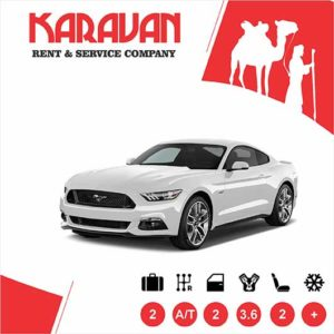 Ford Mustang / Sport class rental cars in Baku, Azerbaijan