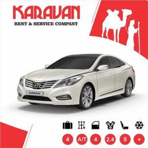 Hyundai Azera / Business class car rental Baku