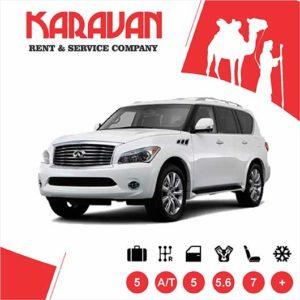 Infiniti Qx 56 / SUV class auto rental Baku