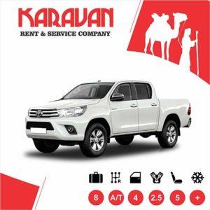 Toyota Hi-lux / Pick up cars for rent in Baku, Azerbaijan