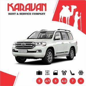 Toyota Land Cruiser 200 / SUV class auto rental Baku