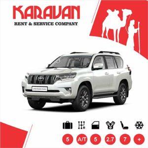 Toyota Prado 2019 / SUV class auto rental Baku