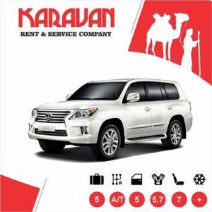 lexus LX 570 / SUV class auto rental Baku