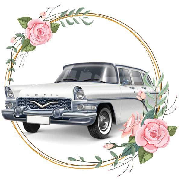 Chayka / wedding cars in Baku by Karavan Rent a car