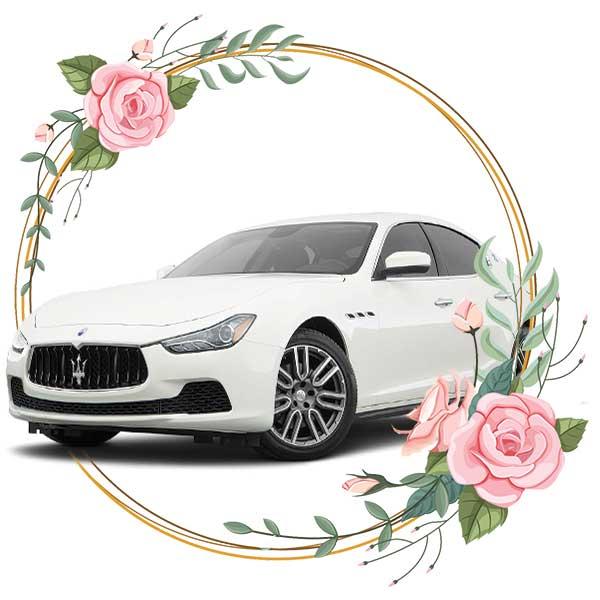 Maseratti Quattroporte / wedding cars in Baku by Karavan Rent a car