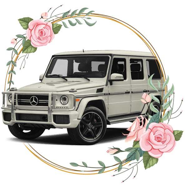 Mercedes-Benz G-class / wedding cars in Baku by Karavan Rent a car