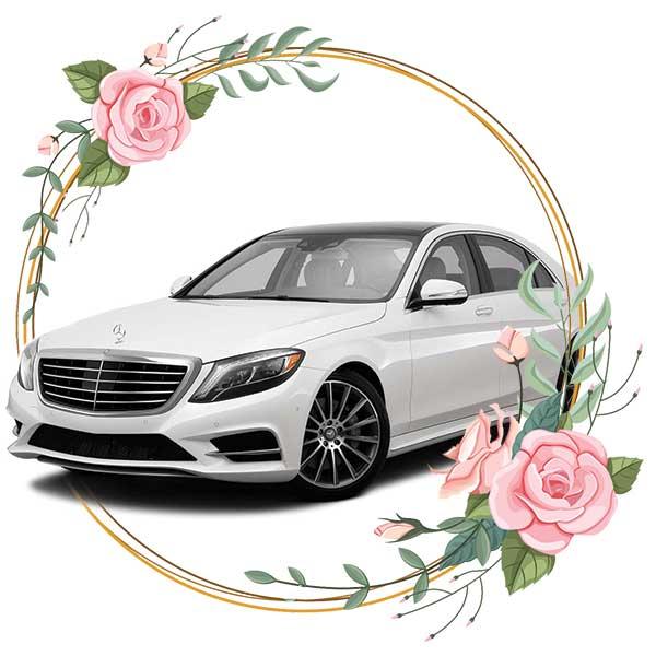 Mercedes Benz S-class / wedding cars in Baku by Karavan Rent a car