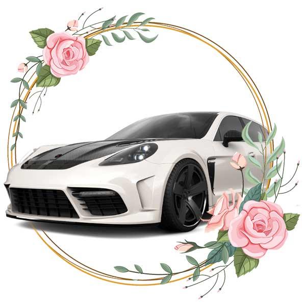 Porshe Panamera Monsonry / wedding cars in Baku by Karavan Rent a car