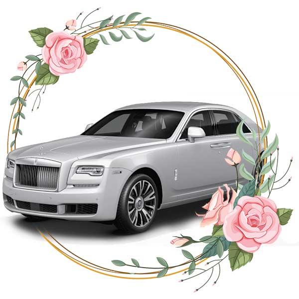 Rolls Royce Ghost / wedding cars in Baku by Karavan Rent a car
